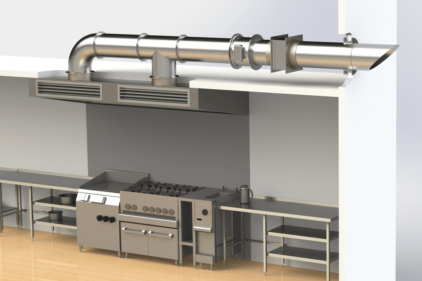 Exhaust Hoods, Grease Extraction Devices, and Make-Up Air for Fire ...